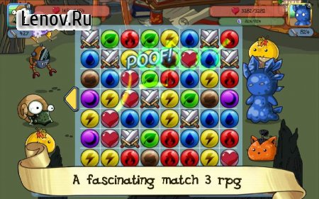 Fluffy Adventure - Match3 RPG & Action Puzzle Game v 1.03 (Mod Money)