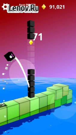 Jump Jump Cube : Endless Square (Vault Arcade) v 1.1.1 (Mod Money)