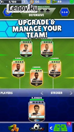 Kings of Soccer - Multiplayer Football Game v 1.1.6 (Mod Money)