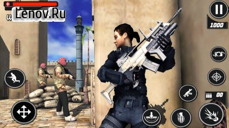Army Commando Frontline War v 1.0 (Mod Money)