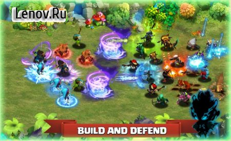 Heroes defense : King Tower v 1.0 Мод (Unlimited Resources)