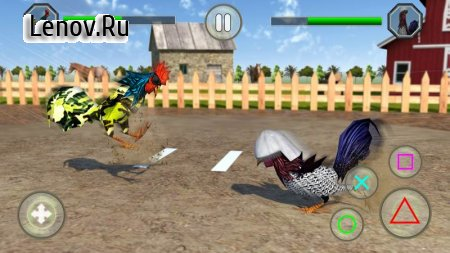 Angry Rooster Fighting Hero: Farm Chicken Battle v 1.4 Мод (Unlimited Money)