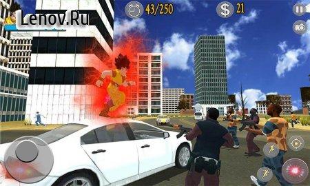 Saiyan Battle: Dragon Goku Superhero Warrior v 1.0 Мод (Unlock all levels)