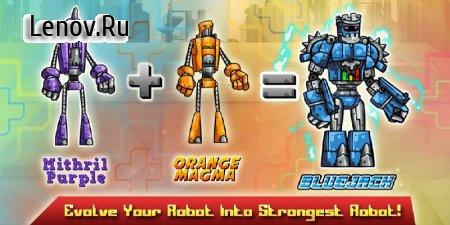 Robot Evolved : Clash Mobile v 1.0.0 (Mod Money)