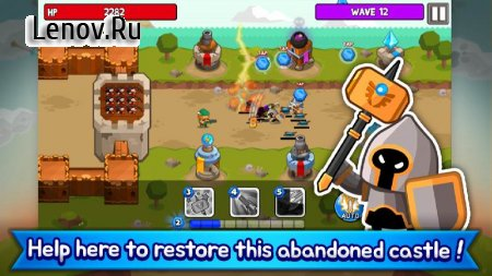 Grow Tower: Castle Defender TD v 1.7.80 (Mod Money)