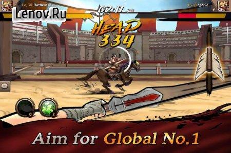 Battle of Arrow v 1.0.3 Мод (x100 Golden Arrow & More)