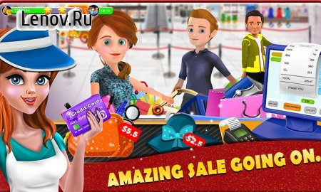 Shopping Mall Cashier Girl v 1.0 (Mod Money)