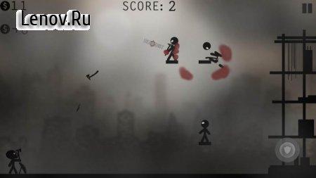 Knife Attacks Stickman Battle (обновлено v 1.2.7) (Mod Money)
