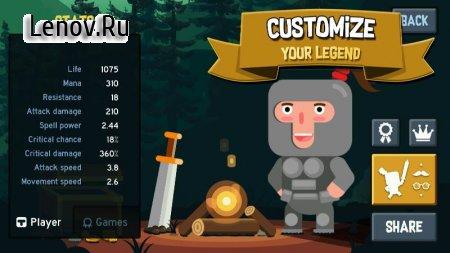 Become a Legend: Dungeon Quest (обновлено v 1.2.1) (Mod Money)
