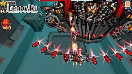 Shooting Sky - Alien Attack Shooter (обновлено v 2.1.8) (Mod Money)