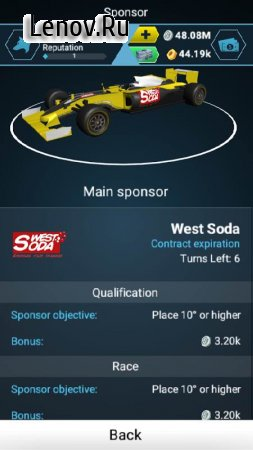 Motorsport Master v 1.0.4 (Mod Money)