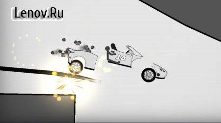 Stickman Racer Road Draw (обновлено v 1.04) (Mod Money)