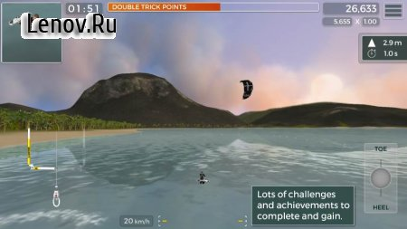 Kiteboard Hero v 1.31 Мод (полная версия)