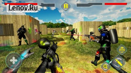 Paintball Shooting Arena v 1.1.1 Мод (Unlocked)