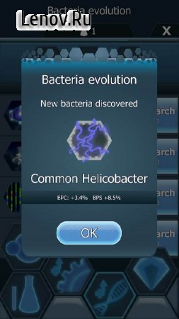 Bacterial Takeover - Idle Clicker v 1.8.0 Мод (много денег)