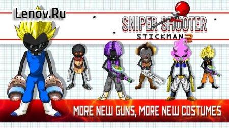Sniper Shooter Stickman 2 Fury: Gun Shooting Games v 3.5.6 (Mod Money)