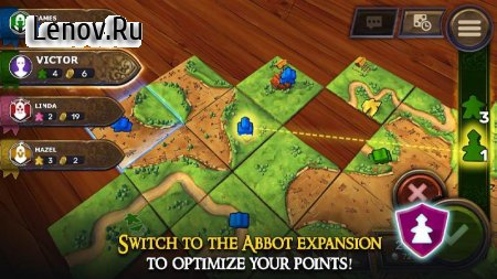 Carcassonne: Official Board Game -Tiles & Tactics v 1.9 Мод (Unlocked)