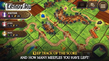 Carcassonne: Official Board Game -Tiles & Tactics v 1.8 Мод (Unlocked)