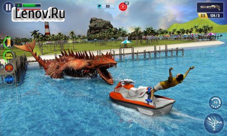 Underwater Sea Monster Hunter - Best Sniping Game v 1.5 (Mod Money)