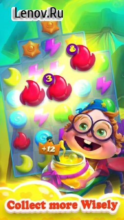 Magic School - Mystery Match 3 Puzzle Spiel v 1.3.3029 Мод (Infinite Lives/Coins)