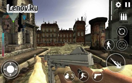 World War 2 : WW2 Secret Agent FPS v 1.0.13 Мод (Unlocked)