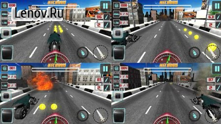 Bike Attack Crazy Moto Racing (обновлено v 2.1.6) (Mod Money)