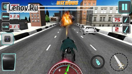 Bike Attack Crazy Moto Racing (обновлено v 2.1.6) (Mod Money)