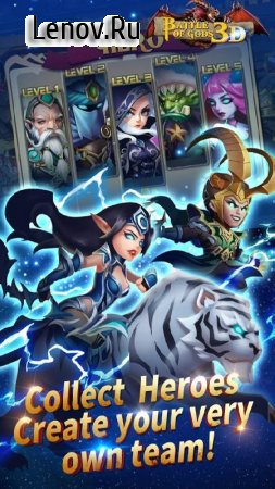 Battle of Gods v 7.2.0 Мод (Instant Win With Kill 1 Enemy)