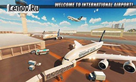 Tourist Airplane City Flight Simulator v 1.0.0 (Mod Money/Unlocked)