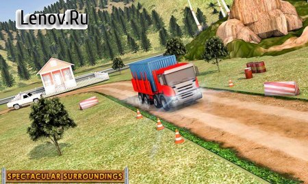 Real Euro Cargo Truck Drive Simulator v 2.1 Мод (Unlocked)