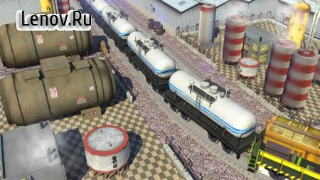 Oil Tanker Train Simulator (обновлено v 1.4) (Free Shopping)