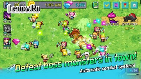 Hero Evolution v 10.5 Мод (Unlimited Money/Rubys/Stones)