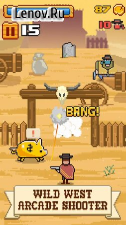 Timber West - Wild West Arcade Shooter v 1.0.5 (Mod Money)