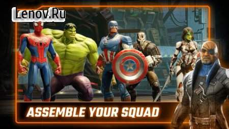 MARVEL Strike Force v 3.1.3 Mod (Increase Energy/Enemies do not attack)
