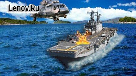 Helicopter Gunship Strike War v 1.1 Мод (Unlocked)