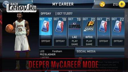 NBA 2K18 (обновлено v 37.0.3) (Mod Money)