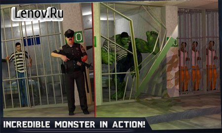 Incredible Monster Hero: Super Prison Action Games v 4.3 (Mod Money)