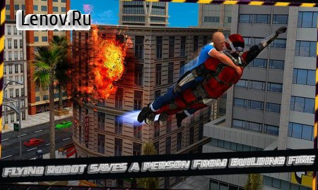 Super Robot: City Rescue v 1.1 Мод (Unlocked)