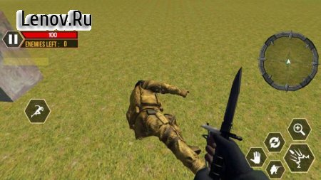 First War On Earth FPS:Final Battleground Survival v 1.0 Мод (Unlimited Ammo)