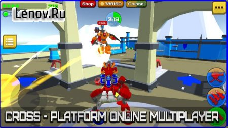 Armored Squad: Mechs vs Robots Online Action v 1.8.4 Мод (Unlimited Coins/Skill Points)