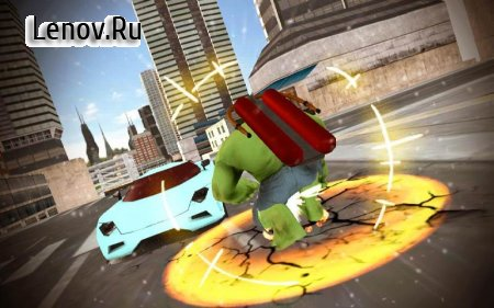 Incredible Transform Flying Monster v 1.0 (Mod Money)