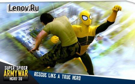 Super Spider Army War Hero 3D v 2.1 (Mod Money/Unlocked)