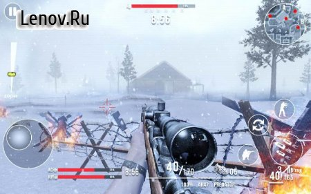 Call of Sniper WW2 Final Battleground v 3.0.9 Мод (Free Shopping)