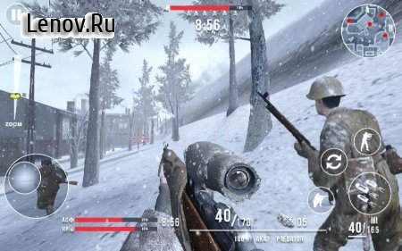 Call of Sniper WW2 Final Battleground v 3.0.7 Мод (Free Shopping)