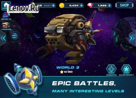 Скачать взломанную игру Zetta Man: Metal Shooter Hero v 1.2.2 (God Mode/One Hit)