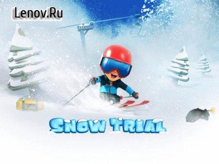 Snow Trial (обновлено v 1.0.65) Мод (много денег)
