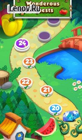 Скачать взломанную игру Farm Flowers Coin Party Dozer v 13.3.0 (Mod Money)