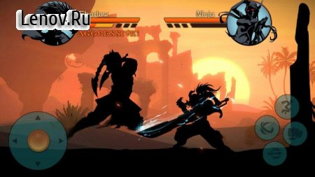 Скачать взломанную игру Shadow Warrior : Hero Kingdom Fight v 1.2 (Mod Money)