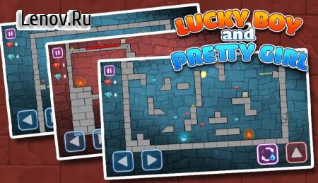 LuckyBoy and PrettyGirl - Crystal Temple Maze v 3.48 Мод (Unlocked All Level)