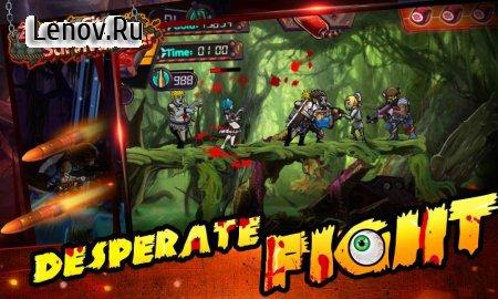 Скачать взломанную Zombie City:Survival War v 1.8.3 (Mod Money)